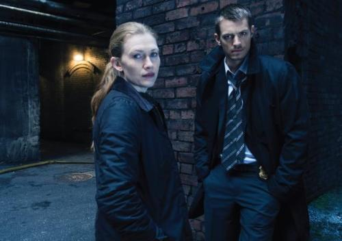 Detectives Sarah Linden and Stephen Holder from The Killing. I love these two so much I am even dreaming about them; you don't even know.